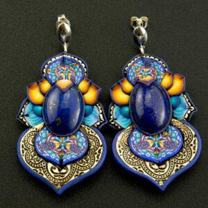 Smipreciosa, lapislázuli, azul elegante joyería cretiva