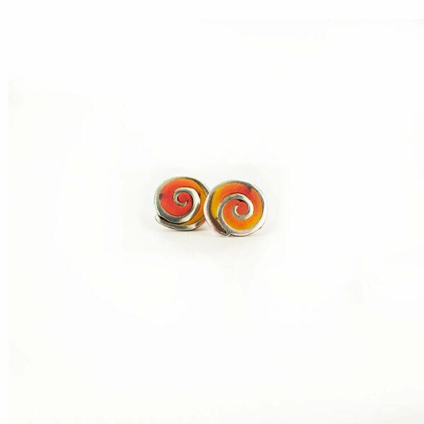 espiral naranja