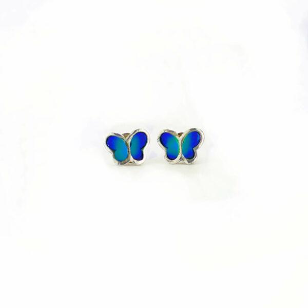 mariposa añil