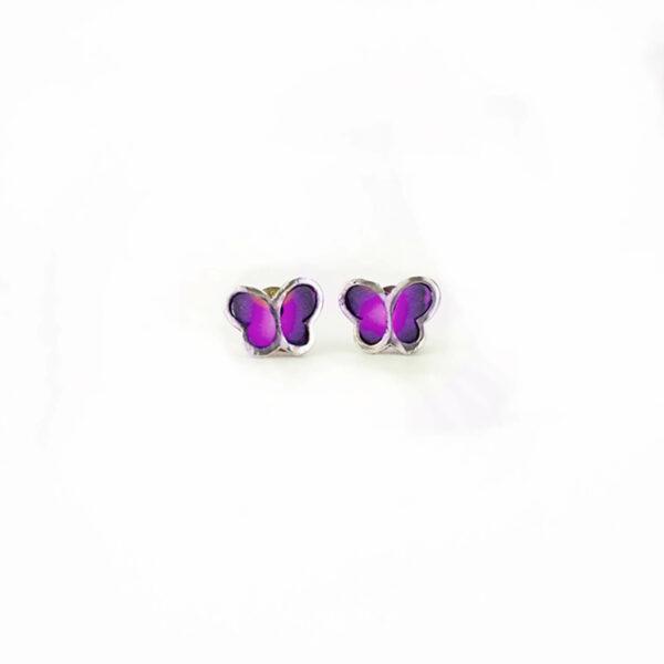 mariposa morada